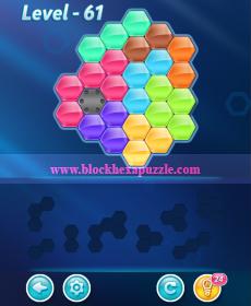 block hexa puzzle expert level 61
